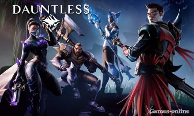 Онлайн игра Dauntless
