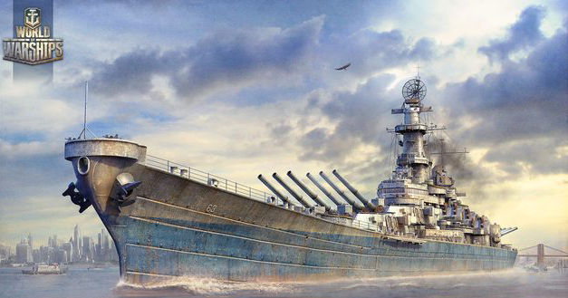 Линкоры в игре World of Warships