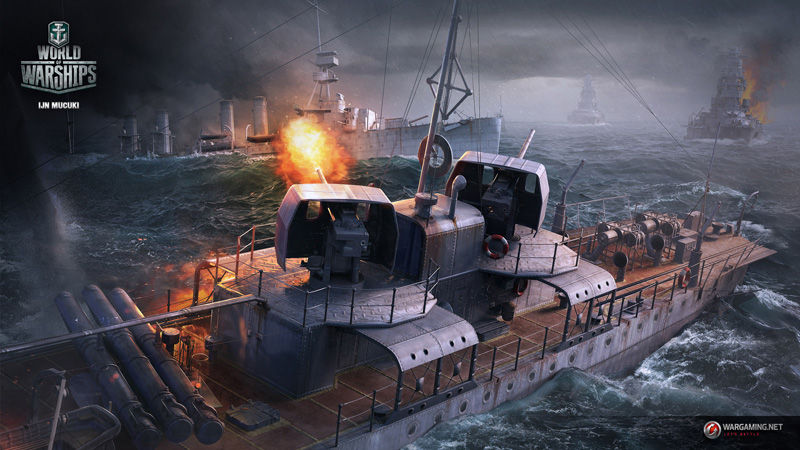 Снаряды в World of Warships