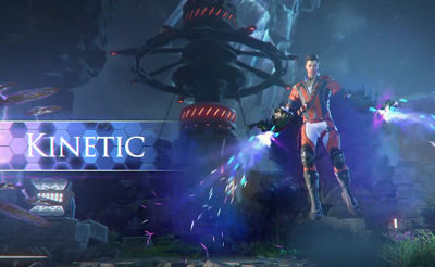 Видео геймплея Kinetic Skyforge - трейлер