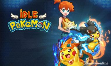 Онлайн игра IDLE Pokemon